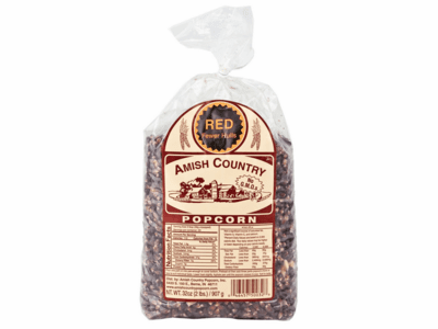 Amish Country Popcorn, Red, 2 Pound Bag
