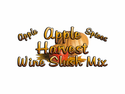Apple Harvest Wine Slush Mix, Case of 24 Packages
