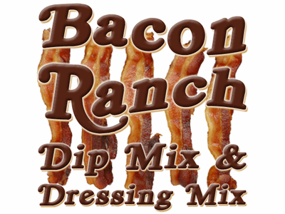Bacon Ranch Dip & Dressing Mix, 1 Pound Pantry Bag