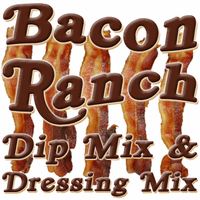 Bacon Ranch Dip & Dressing Mix, Case of 24 Packets