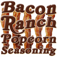 Bacon Ranch Popcorn Seasoning, 5 Pound Bulk Bag