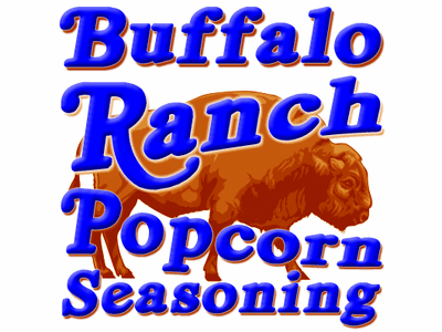Buffalo Ranch Popcorn Seasoning, 5 Pound Bulk Bag