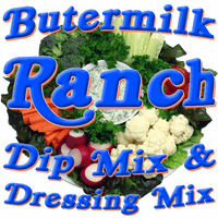 Buttermilk Ranch Dip & Dressing Mix, No MSG Added, 1 Pound Pantry Bag