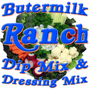Buttermilk Ranch Dip & Dressing Mix, No MSG Added