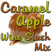 Caramel Apple Wine Slush Mix, Case of 24 Packages