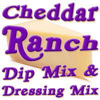 Cheddar Ranch Dip & Dressing Mix, 1 Pound Pantry Bag