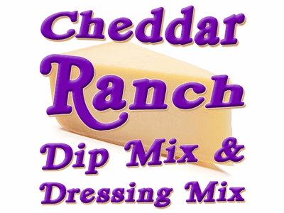 Cheddar Ranch Dip & Dressing Mix, Case of 24 Packets