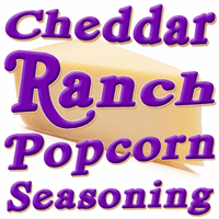 Cheddar Ranch Popcorn Seasoning, 5 Pound Bulk Bag