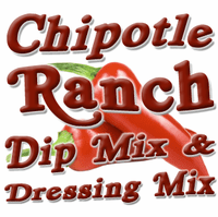Chipotle Ranch Dip & Dressing Mix, Case of 24 Packets