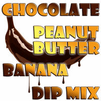 Chocolate Peanut Butter Banana Dip & Spread Mix