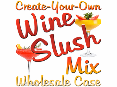 Create-Your-Own Custom Wine Slush Mix, Case of 24 Packages