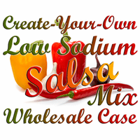 Create-Your-Own Low Sodium Salsa Mix, Case of 24 Packets
