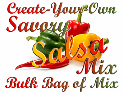 Create-Your-Own Savory Salsa Mix, 5 Pound Bulk Bag