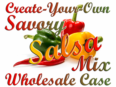 Create-Your-Own Savory Salsa Mix, Case of 24 Packets
