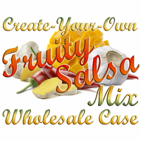 Create-Your-Own Sweet Heat Fruity Salsa Mix, Case of 24 Packets