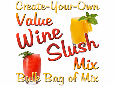 Create-Your-Own Value Wine Slush Mix, 10 Pound Bulk Bag