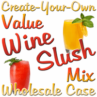 Create-Your-Own Value Wine Slush Mix, Case of 24 Packages