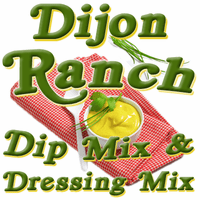 Dijon Ranch Dip & Dressing Mix, 1 Pound Pantry Bag