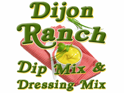 Dijon Ranch Dip & Dressing Mix, Case of 24 Packets
