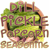 Dill Pickle Popcorn Seasoning, 5 Pound Bulk Bag