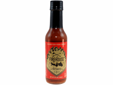 Firehouse Hot Sauce by CaJohn's, 5 fl. oz. Bottle