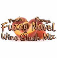 Fuzzy Navel Wine Slush & Champagne Slush Mix, Case of 24 Packages