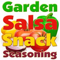 Garden Salsa Snack Seasoning Powder, 5 Pound Bulk Bag