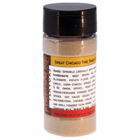 Great Chicago Fire Snack Seasoning (with Ghost Pepper) in a Spice Jar (2.82 oz.)