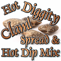 Hot Diggity Clam Dip & Spread Mix, Case of 24 Packets