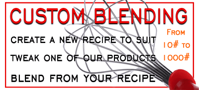 Custom Blending Services