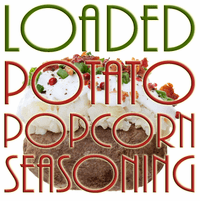 Loaded Potato Popcorn Seasoning Powder, 1 Pound Bulk Bag