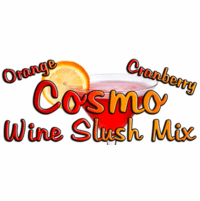 Orange Cranberry Cosmo Wine Slush Mix, Case of 24 Packages