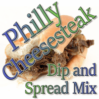 Philly Cheesesteak Dip & Spread Mix, Case of 24 Packets