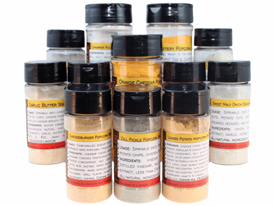 Premium Popcorn Seasoning Collection (12 Varieties)