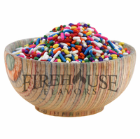 Rainbow Colored Sprinkles in a Large Spice Jar (5.11 oz.)
