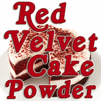 Red Velvet Cake Flavored Powder, 1 Pound Bulk Bag