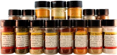Save 15% Off Spices in Jars