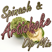 Spinach Artichoke Dip & Spread Mix, Case of 24 Packets