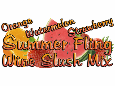 Sweet Summer Fling Wine Slush Mix, Case of 24 Packages