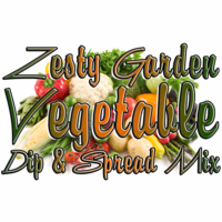 Zesty Garden Vegetable Dip & Spread Mix, Case of 24 Packets