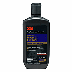 3M 39007 Hand Glaze Imperial™ Car Polish  1/ea of 16 fl oz