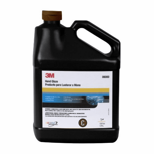 3M 6000 Imperial™ Hand Glaze, Car Polish 06000, 1 Gallon