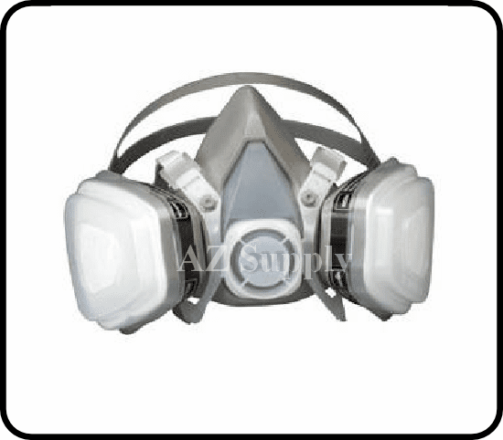3M 7191, 7192, 7193 Disposable Dual Cartridge Respirator 1/ea