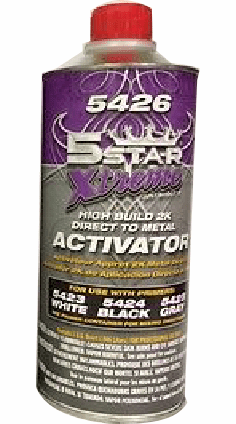 5 Star 5426 half pint Activator for 5425