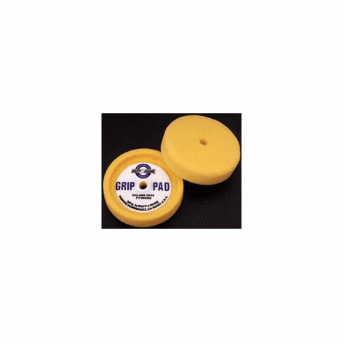 Buff and Shine 2000G Black 3000G Yellow  Recessed Flat Face Foam Buffing Pad