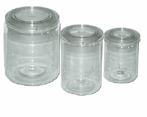 EZ Mix 10016 Pint Mixing Cups E-Z View Clear Cans pint size 1 box of 48/ea