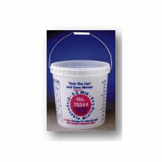 EZ Mix 70544 The BIG E-Z  Paint Mixing Buckets 1 box of 6/ea