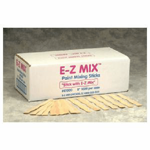 EZ Mix 81000 Paint Sticks 1 box of 1000/ea