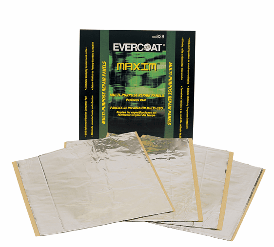 Fiberglass Evercoat  Multi-Purpose Repair Panels 4-12 X 12 panels 1 pack of 4/ea