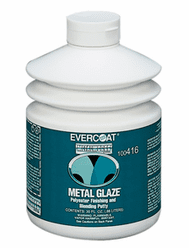 Fibreglass Evercoat 416 Metal Glaze® 1/ea 30 oz Pump